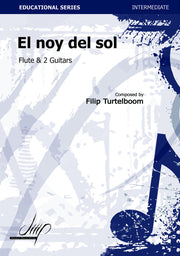 Turtelboom - El noy del sol for Flute and Two Guitars - CM10017DMP