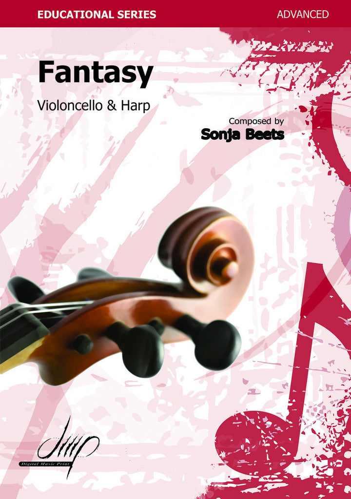 Beets - Fantasy for Cello and Harp - CM108076DMP