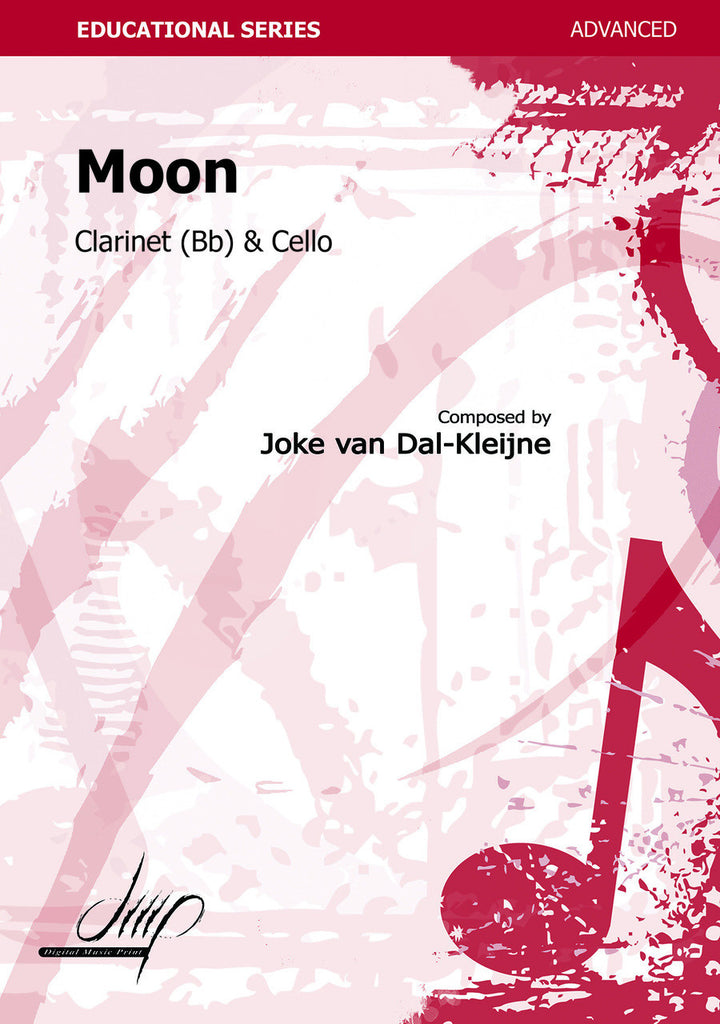 van Dal-Kleijne - Moon for Clarinet and Cello - CM113093DMP