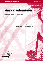 van Dal-Kleijne - Musical Adventures for Clarinet, Horn and Bassoon - CM114135DMP