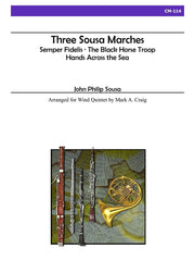 Sousa (arr. Craig) - Three Sousa Marches for Wind Quintet - CM114