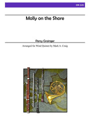 Grainger (arr. Craig) - Molly on the Shore for Wind Quintet - CM115