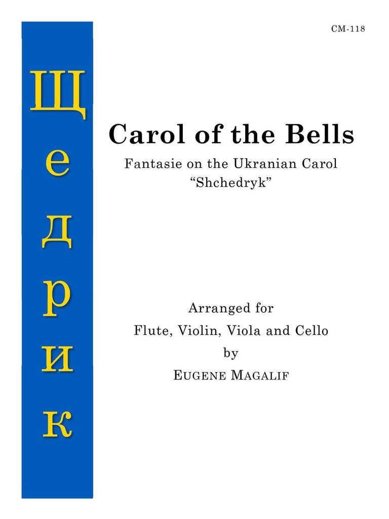 Magalif - Carol of the Bells for Flute and Strings - CM118