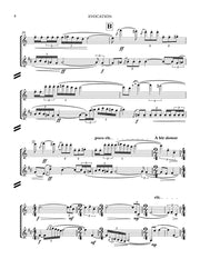 Barr - Evocation for Flute and Clarinet - CM122