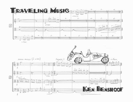 Benshoof - Traveling Music for String Quartet - CM130