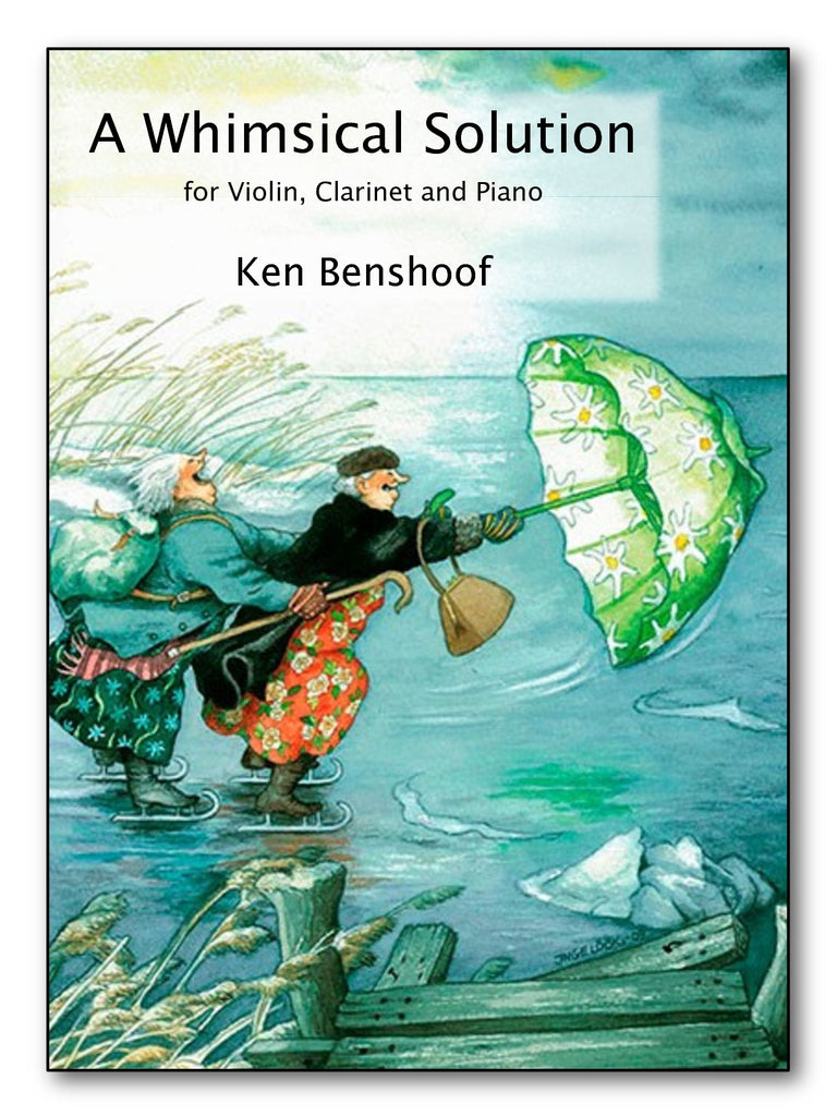 Benshoof - A Whimsical Solution for Violin, Clarinet and Piano - CM132