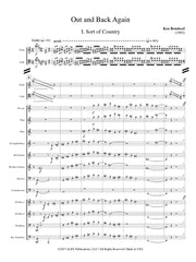 Benshoof - Out and Back Again (Violin, Cello and Chamber Winds) - CM134