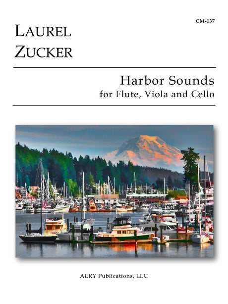Zucker - Harbor Sounds for Flute, Viola and Cello - CM137