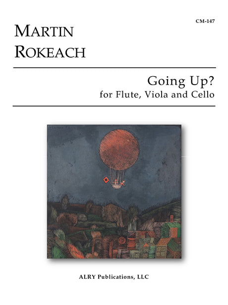 Rokeach - Going Up? for Flute, Viola and Cello - CM147