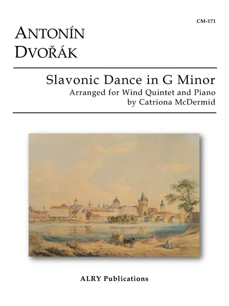 Dvorak (arr. McDermid) - Slavonic Dance in G Minor for Wind Quintet and Piano - CM171