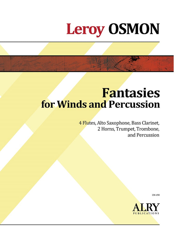 Osmon - Fantasies for Winds and Percussion - CM190