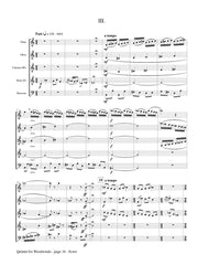 Derfler - Quintet for Woodwinds - CM21