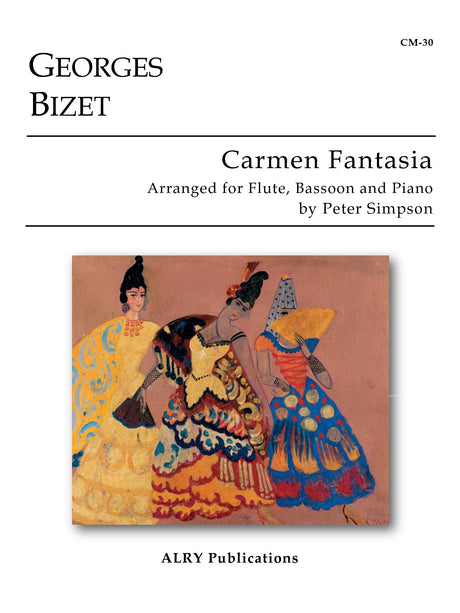 Bizet - Carmen Fantasia for Flute, Bassoon and Piano - CM30