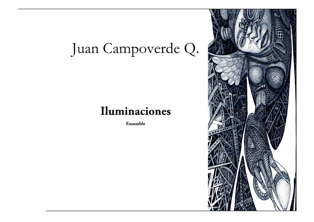Campoverde Q. - Iluminaciones for Chamber Ensemble - CM3567PM