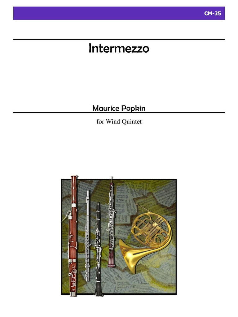 Popkin - Intermezzo for Wind Quintet - CM35