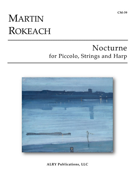 Rokeach - Nocturne for Piccolo, Strings and Harp - CM39
