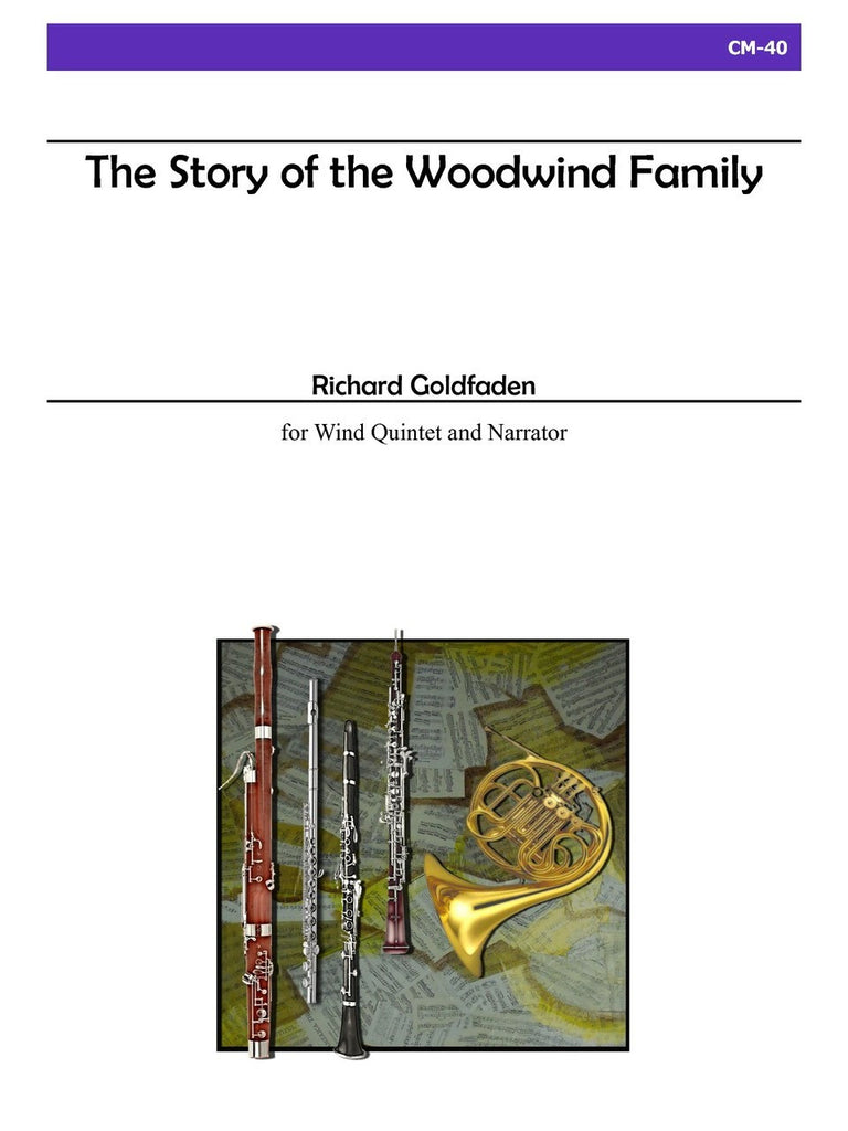 Goldfaden - The Story of the Woodwind Family - CM40