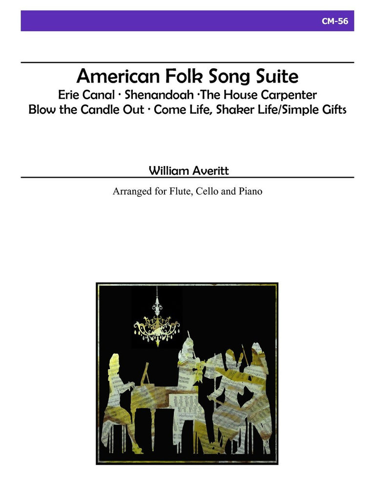 Averitt - American Folk Song Suite - CM56