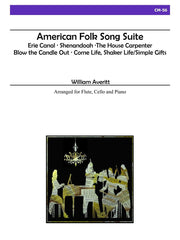 Averitt - American Folk Song Suite for Flute, Cello and Piano - CM56