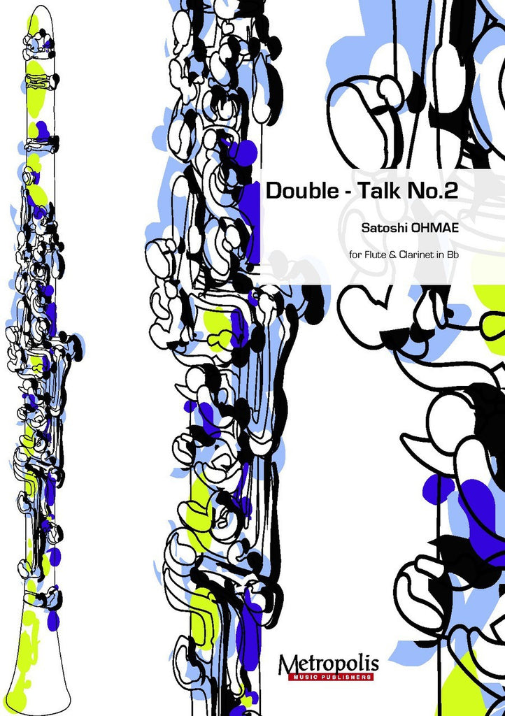 Ohmae - Double Talk No. 2 for Flute and Clarinet - CM6473EM