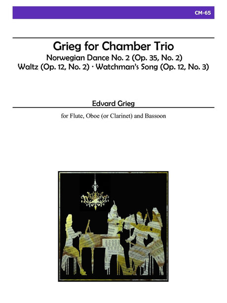 Grieg - Grieg for Chamber Trio - CM65