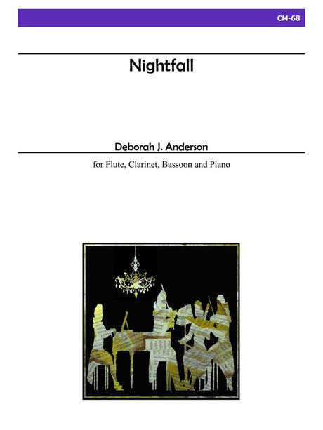 Anderson - Nightfall for Flute, Clarinet and Bassoon - CM68