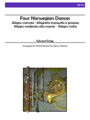 Grieg - Four Norwegian Dances for Wind Quintet - CM70