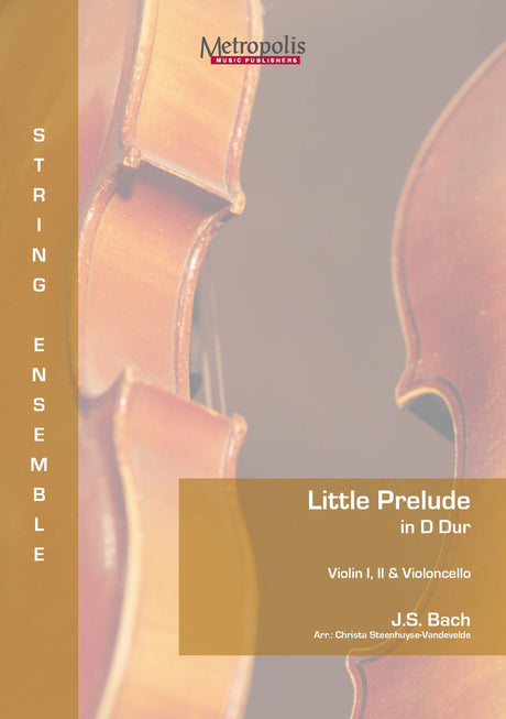 Bach - Little Prelude in D Major for 3 Violins and Cello - CM7128EM