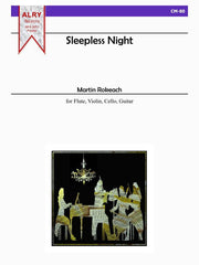 Rokeach - Sleepless Night for Flute, Violin, Cello and Guitar - CM80