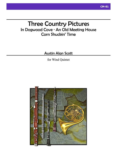 Scott - Three Country Pictures for Wind Quintet - CM81