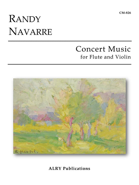 Navarre - Concert Music for Flute and Violin - CM826
