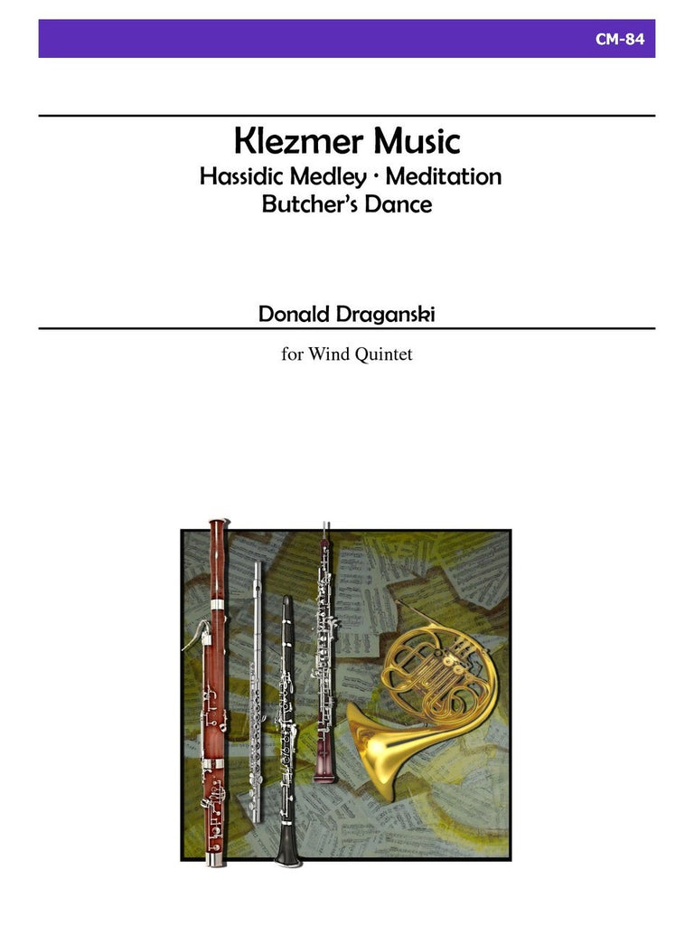 Draganski - Klezmer Music for Wind Quintet - CM84