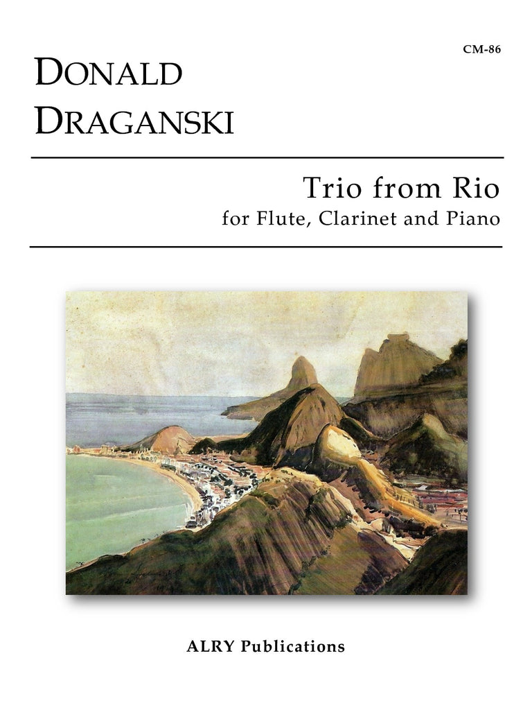 Draganski - Trio from Rio for Flute, Clarinet and Piano - CM86