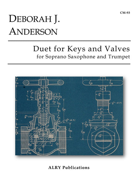 Anderson - Duet for Keys and Valves for Soprano Saxophone and Trumpet - CM93