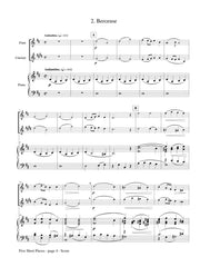 Cui - Five Short Pieces for Flute, Clarinet and Piano - CM92