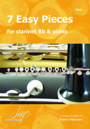 7 Easy Pieces for Clarinet and Piano - CP10606DMP