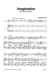 6 Great Pieces for Clarinet and Piano - CP10607DMP