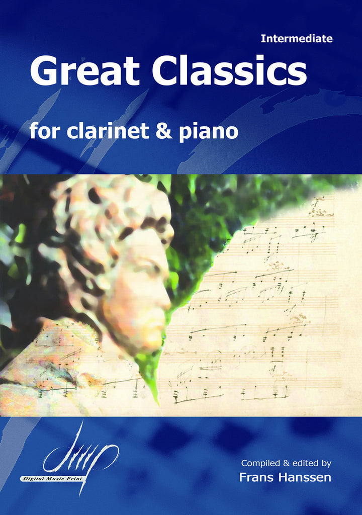 Great Classics for Clarinet and Piano - CP10628DMP