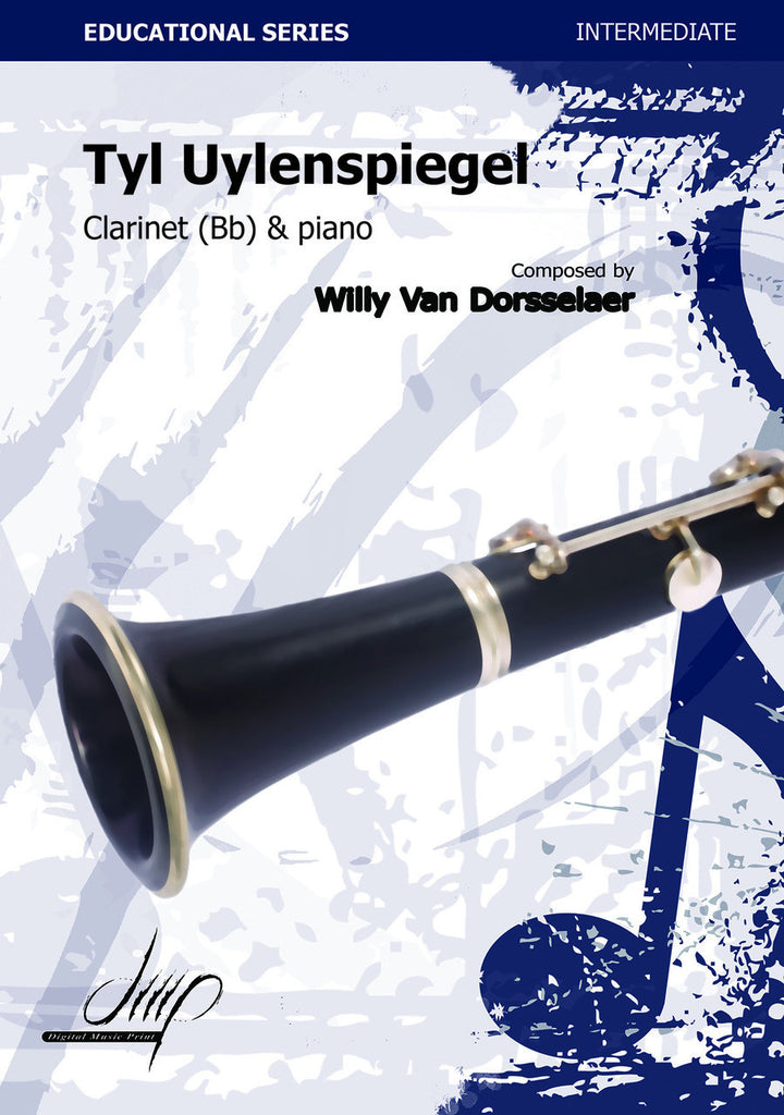 Van Dorsselaer - Tyl Uylenspiegel (Clarinet and Piano) - CP10686DMP