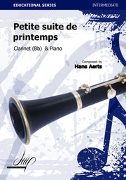 Aerts - Petite Suite de Printemps (Clarinet and Piano) - CP110080DMP