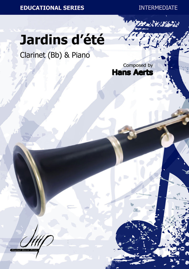Aerts - Jardins d'ete (Clarinet and Piano) - CP110083DMP