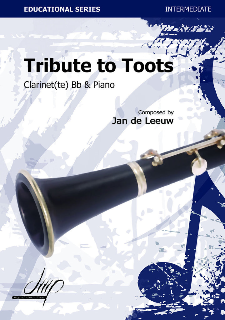 de Leeuw - Tribute to Toots (Clarinet and Piano) - CP115026DMP