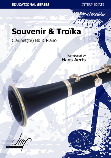 Aerts - Souvenir and Troika (Clarinet and Piano) - CP115033DMP