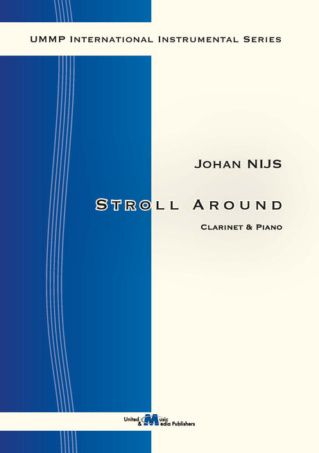 Nijs - Stroll Around for Clarinet and Piano - CP130112UMMP