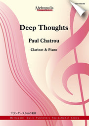 Chatrou - Deep Thoughts-Clarinet - CP6449EM
