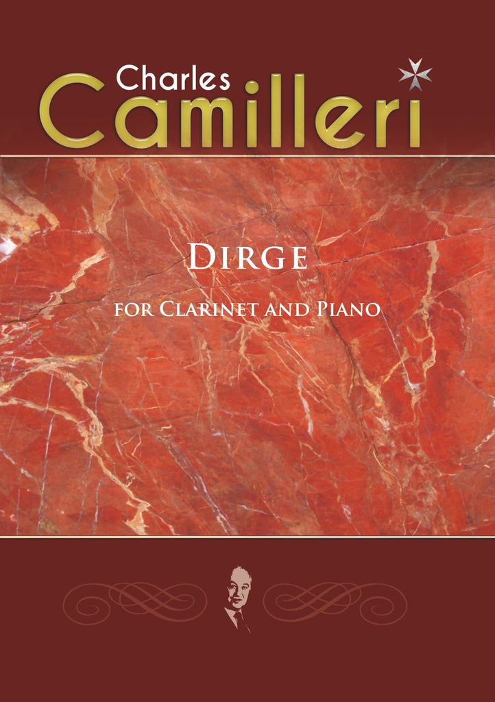 Camilleri - Dirge 11.09.01 for Clarinet and Piano - CP6537EM