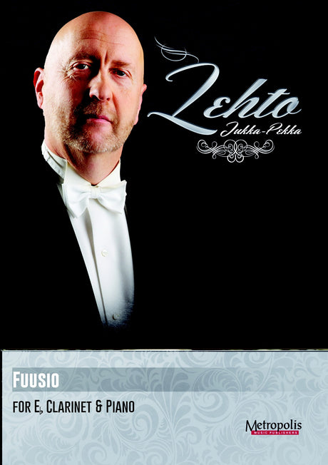 Lehto - Fuusio for Eb Clarinet and Piano - CP6772EM