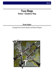 Joplin (arr. Wingert) - Two Rags, Solace and Gladiolus Rag - CQ01
