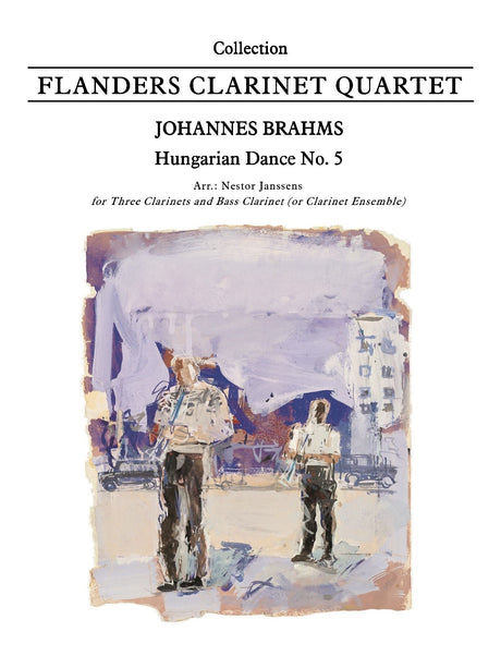 Brahms - Hungarian Dance No. 5 (Clarinet Quartet) - CQ6006EM
