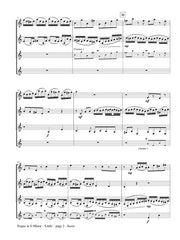 Bach (arr. Johnston) - Fugue in G minor - 'Little' for Clarinet Quartet - CQ102
